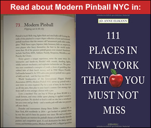 Featured in the book 111 Places in New York That You Must Not Miss