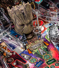 Guardians of the Galaxy Pinball Machine Playfield