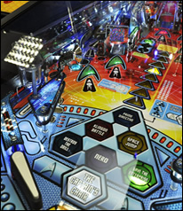STAR TREK Pinball Machine Playfield