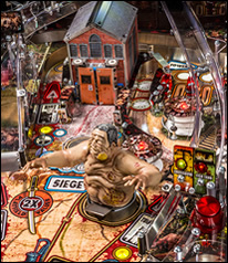 The Walking Dead Pinball Machine Playfield