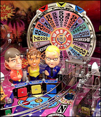 Wheel of Fortune Pinball Playfield