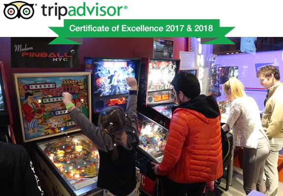 Visit Modern Pinball Nyc Arcade Party Place And Museum