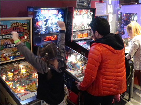 Modern Pinball NYC Arcade, Party Place & Museum for Kids, Adults