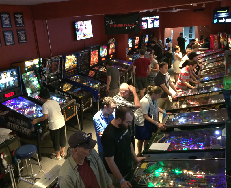 Modern Pinball Nyc Arcade Party Place And Museum