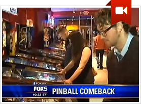 FOX News Covers Modern Pinball NYC