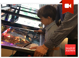 The New York Daily News Reviews Modern Pinball NYC