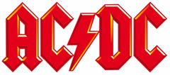 ACDC Pinball Machine Logo