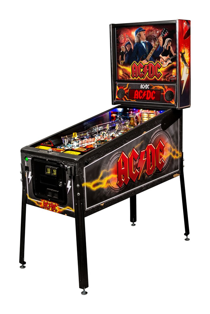 ACDC Pinball Machine by Stern
