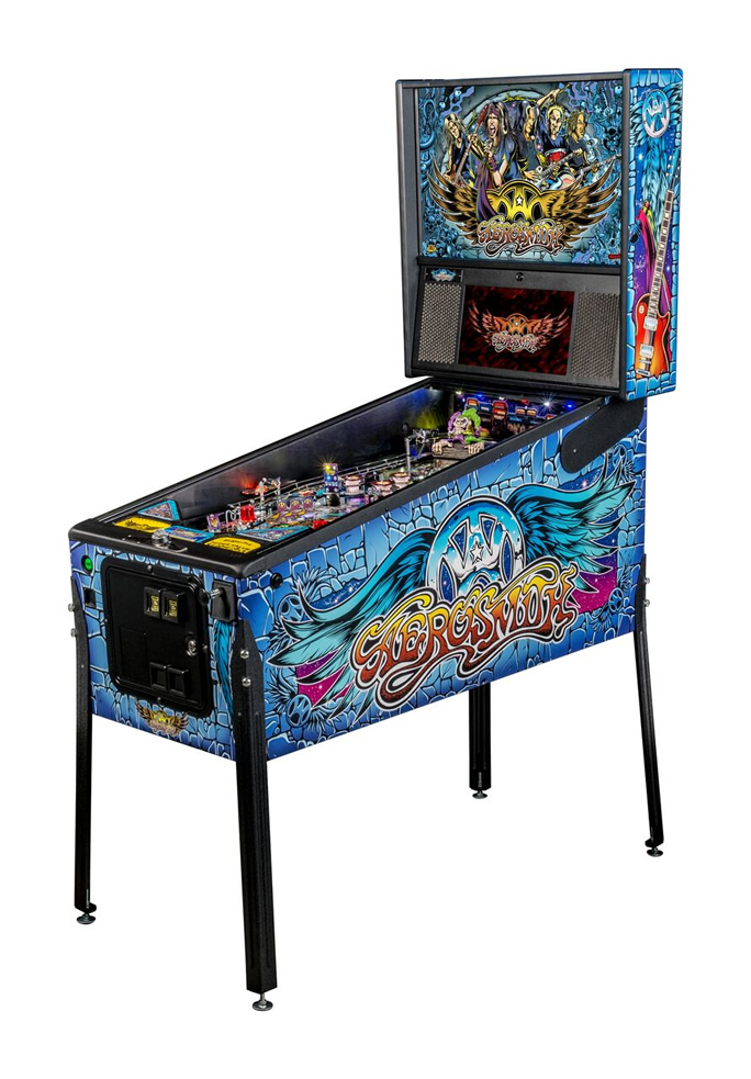 Aerosmith Pinball Machine by Stern