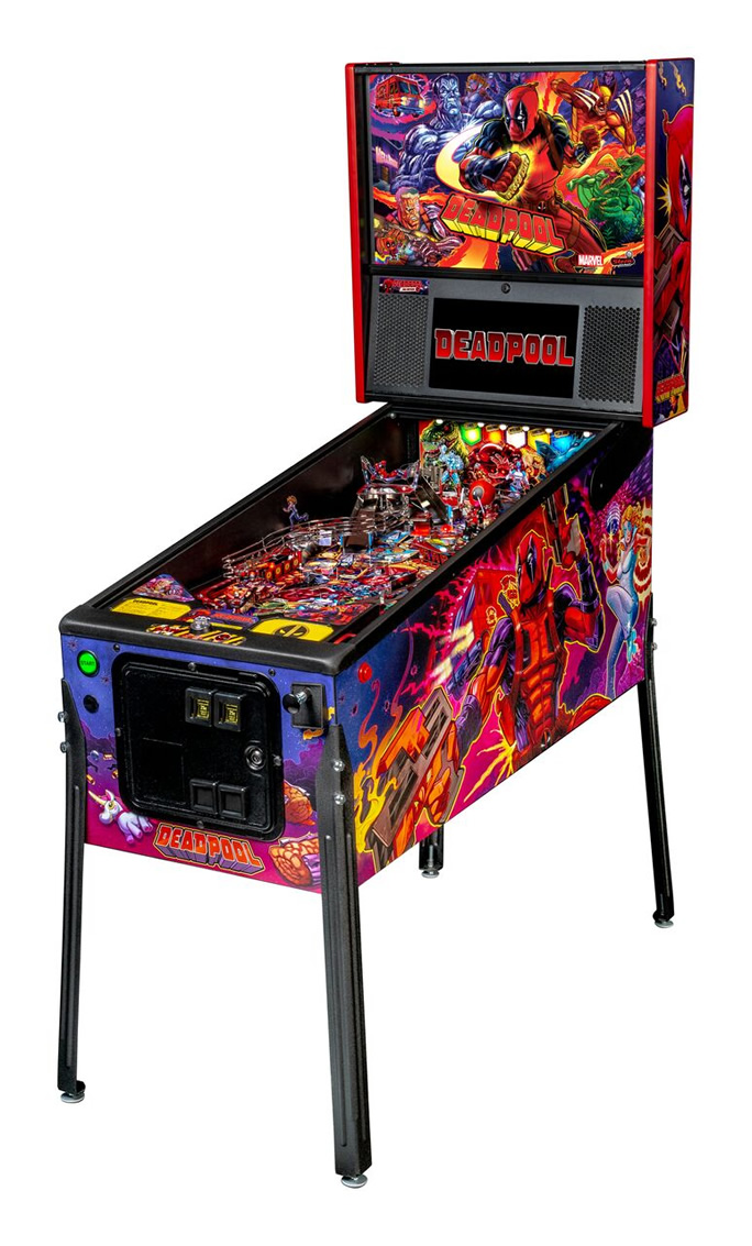 Deadpool Pinball Machines by Stern
