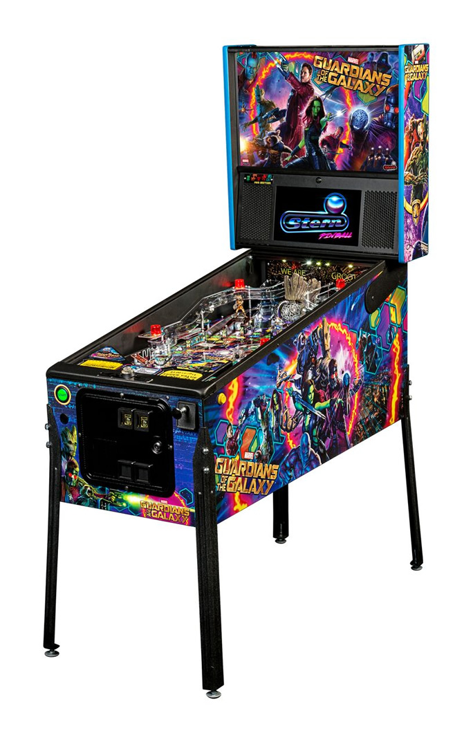 Guardians of the Galaxy Pinball Machine by Stern