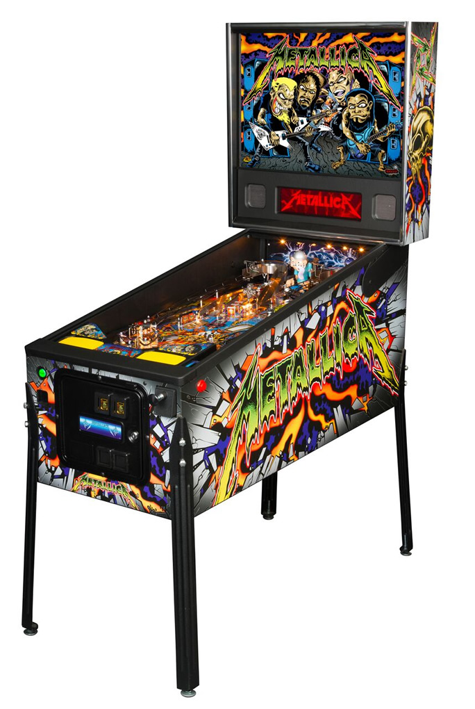 Metallica Pinball Machine by Stern