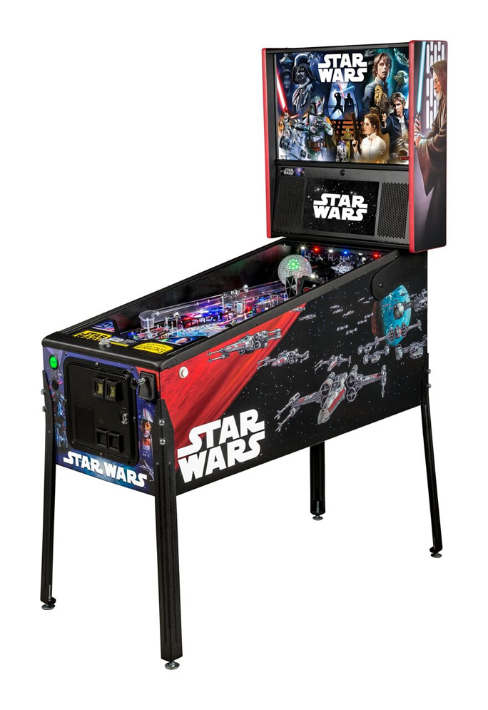 Star Wars Pinball Machine by Stern
