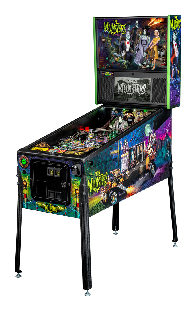 The Munsters Pinball Machine by Stern