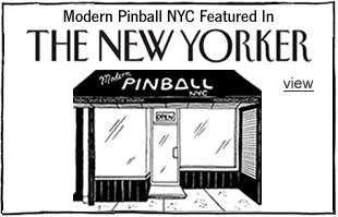 The New Yorker Featured Modern Pinball NYC