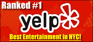 Yelp Ranked Modern Pinball NYC #1 for Best Entertainment